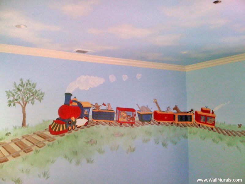 Transportation Wall Murals  Examples of Transportation MuralsWall Murals by Colette