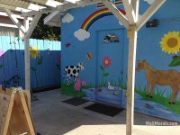 Preschool Wall Murals - Daycare Murals - Playroom - Mural ...