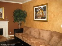 Examples of Living Room Wall Murals, Archway Murals
