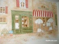 Kitchen Murals - Hand-Painted Kitchen Wall Murals ...