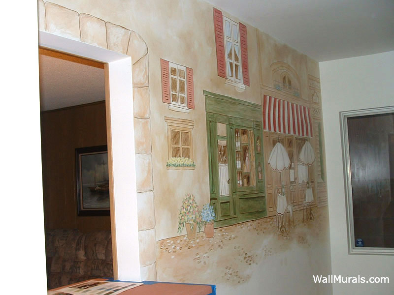 Kitchen Murals  HandPainted Kitchen Wall Murals