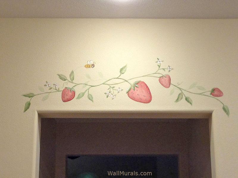 Kitchen Murals  HandPainted Kitchen Wall Murals  Borders