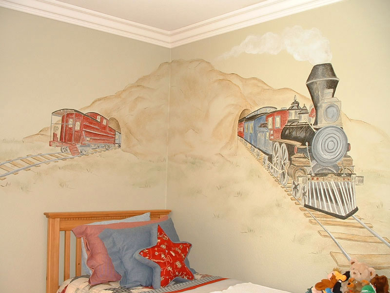 Boys Bedroom Wall Murals  60 Different Examples of Wall Murals for Boys