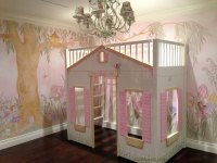 Girls Room Wall Murals - Examples of Wall Murals for Girls