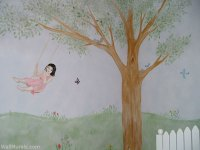Girls Room Wall Murals - 60 Examples of Wall Murals for Girls