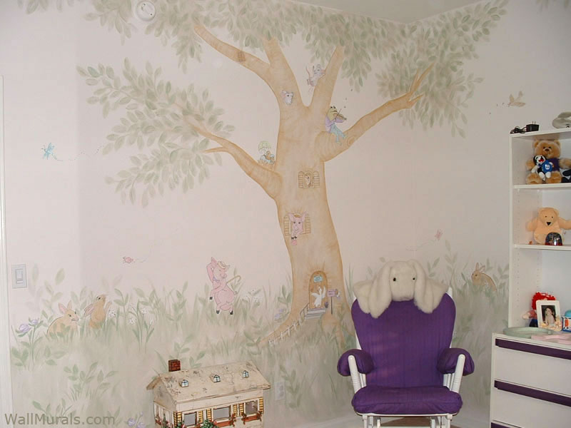 Girls Room Wall Murals  Examples of Wall Murals for Girls  Page 2Wall Murals by Colette  Page 2