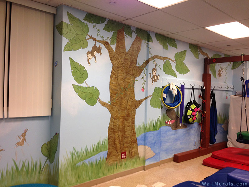 Jungle Wall Murals  Examples of Jungle Theme MuralsWall Murals by Colette