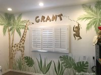 Jungle Wall Murals - Examples of Jungle Theme MuralsWall ...