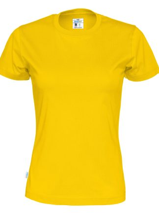 Cottover - 141007 - T-shirt lady - Gul (255)
