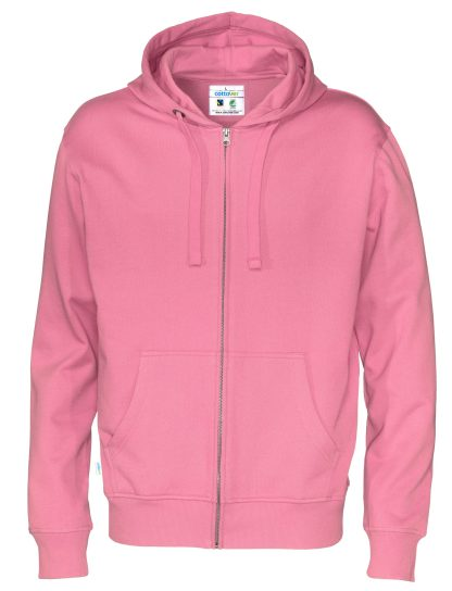 Cottover - 141010 - Full zip hood man - Rosa (425)