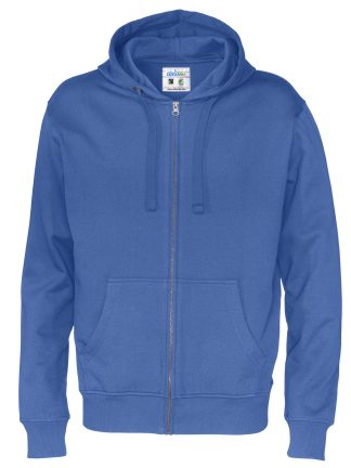 Cottover - 141010 - Full zip hood man - Royal blue (767)