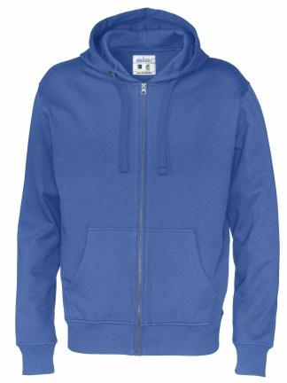 Cottover - 141010 - Full zip hood man - Royal blue (767)