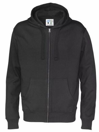 Cottover - 141010 - Full zip hood man - Sort (990)