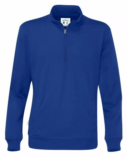 Cottover - 141012 - Half zip unisex - Royal blue (767)