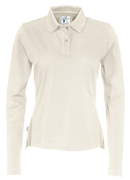 Cottover - 141017 - Pique LS Lady - Off-White (105)