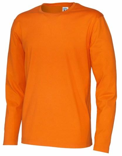 Cottover - 141020 - T-Shirt LS Man - Orange (290)
