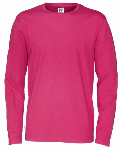 Cottover - 141020 - T-Shirt LS Man - Cerise (435)