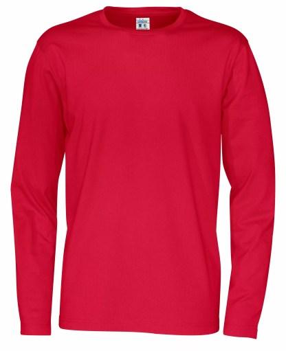 Cottover - 141020 - T-Shirt LS Man - Rød (460)