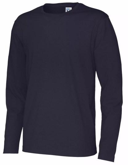 Cottover - 141020 - T-Shirt LS Man - Marineblå (855)