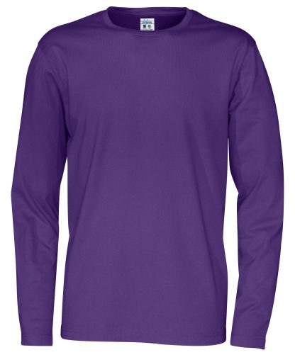 Cottover - 141020 - T-Shirt LS Man - Lilla (885)