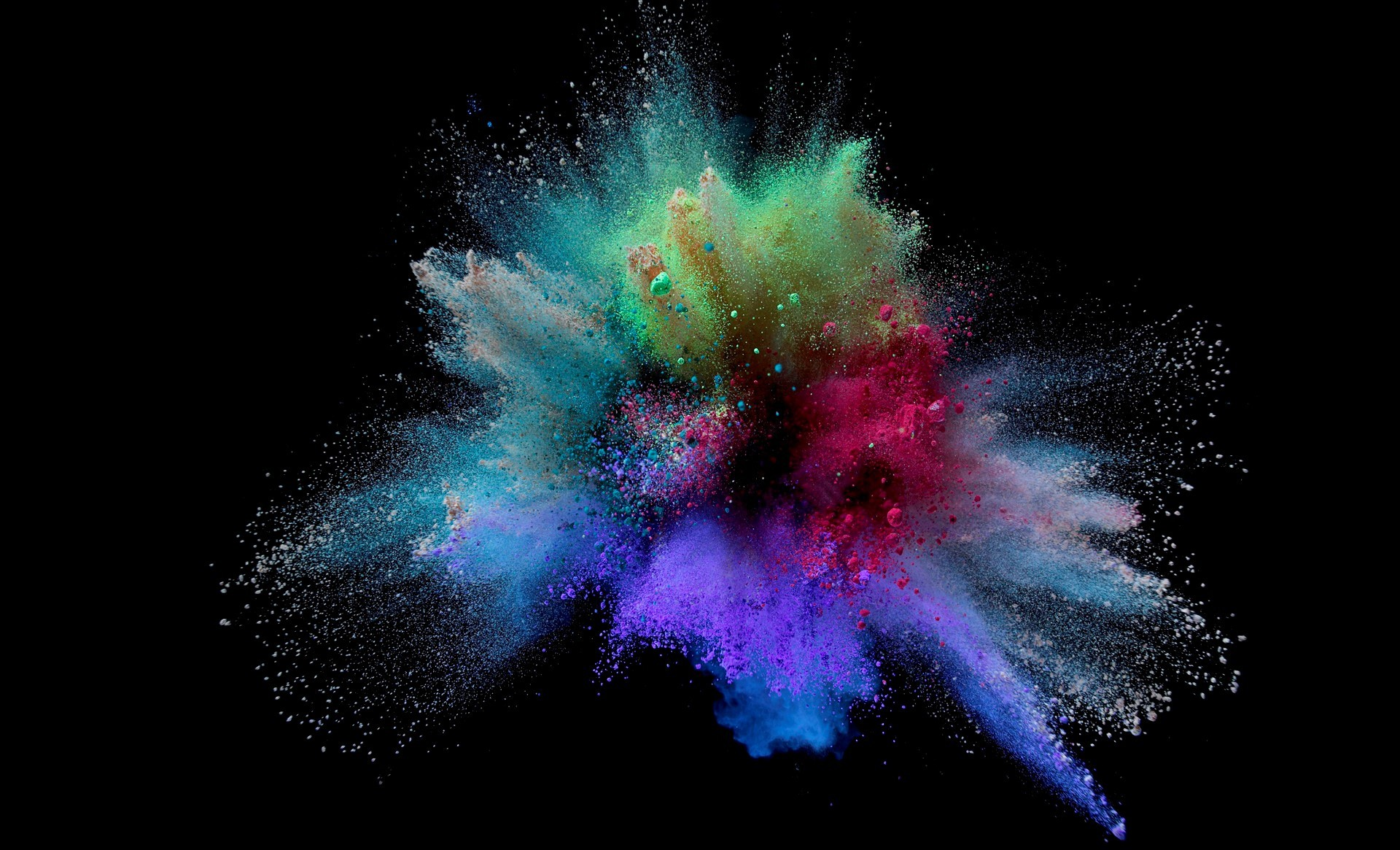 Samsung Galaxy S3 3d Wallpaper Free Download Powder Colorful Splash Wallpaper 3d And Abstract