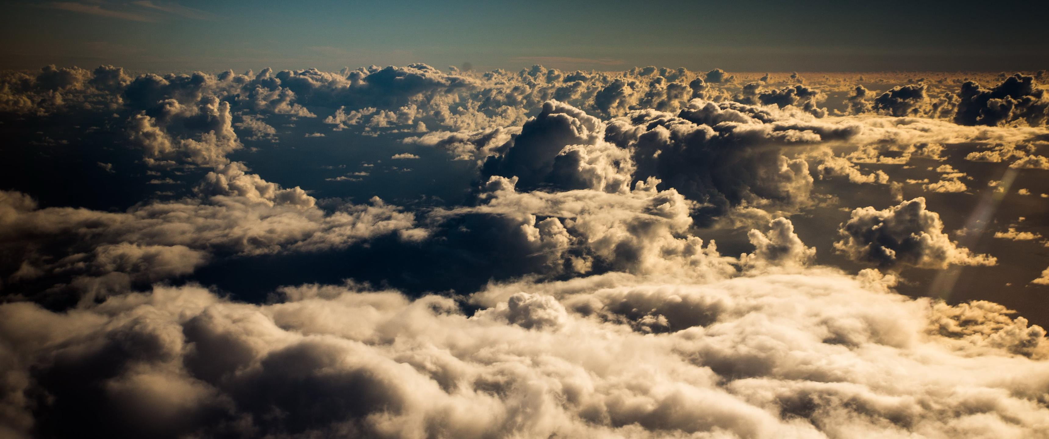 2k Car Wallpaper Clouds Aerial View Wallpaper Nature And Landscape