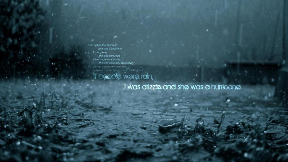Motivational Quotes Wallpapers Hd 1080p For Pc If People Were Rain Wallpaper Other Wallpaper Better