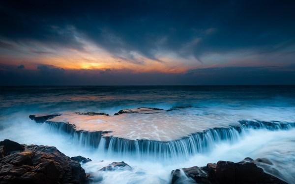 beautiful landscape ocean beach