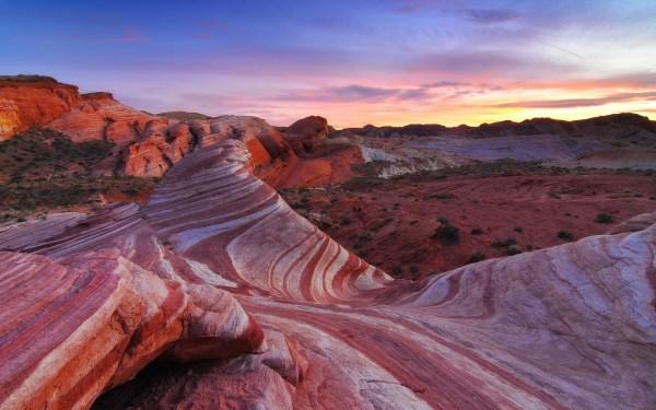 america desert landscape rocks