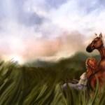 Zelda Drawing Malon Epona Horse Hd Wallpaper Games Wallpaper Better