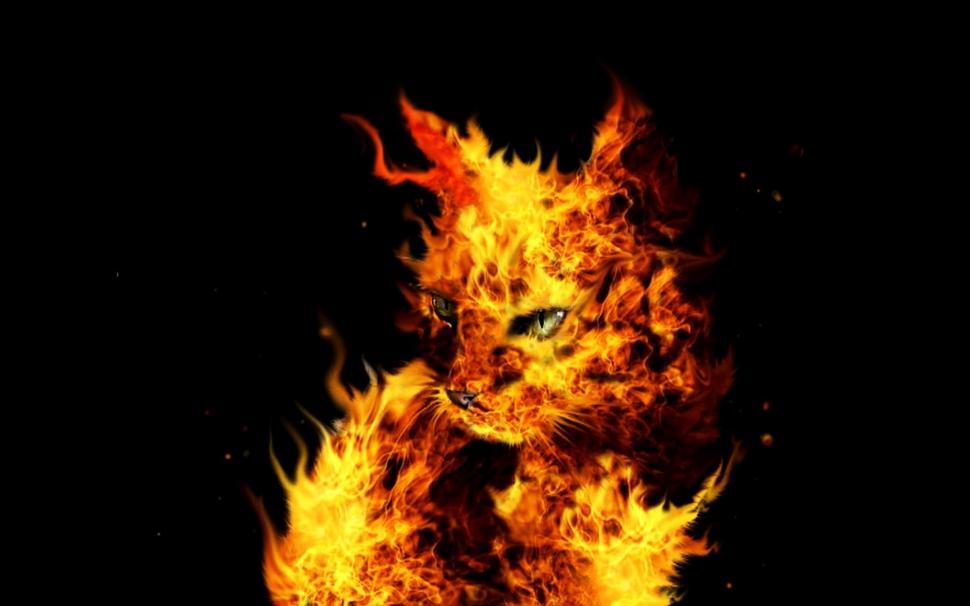 flames hd wallpaper art