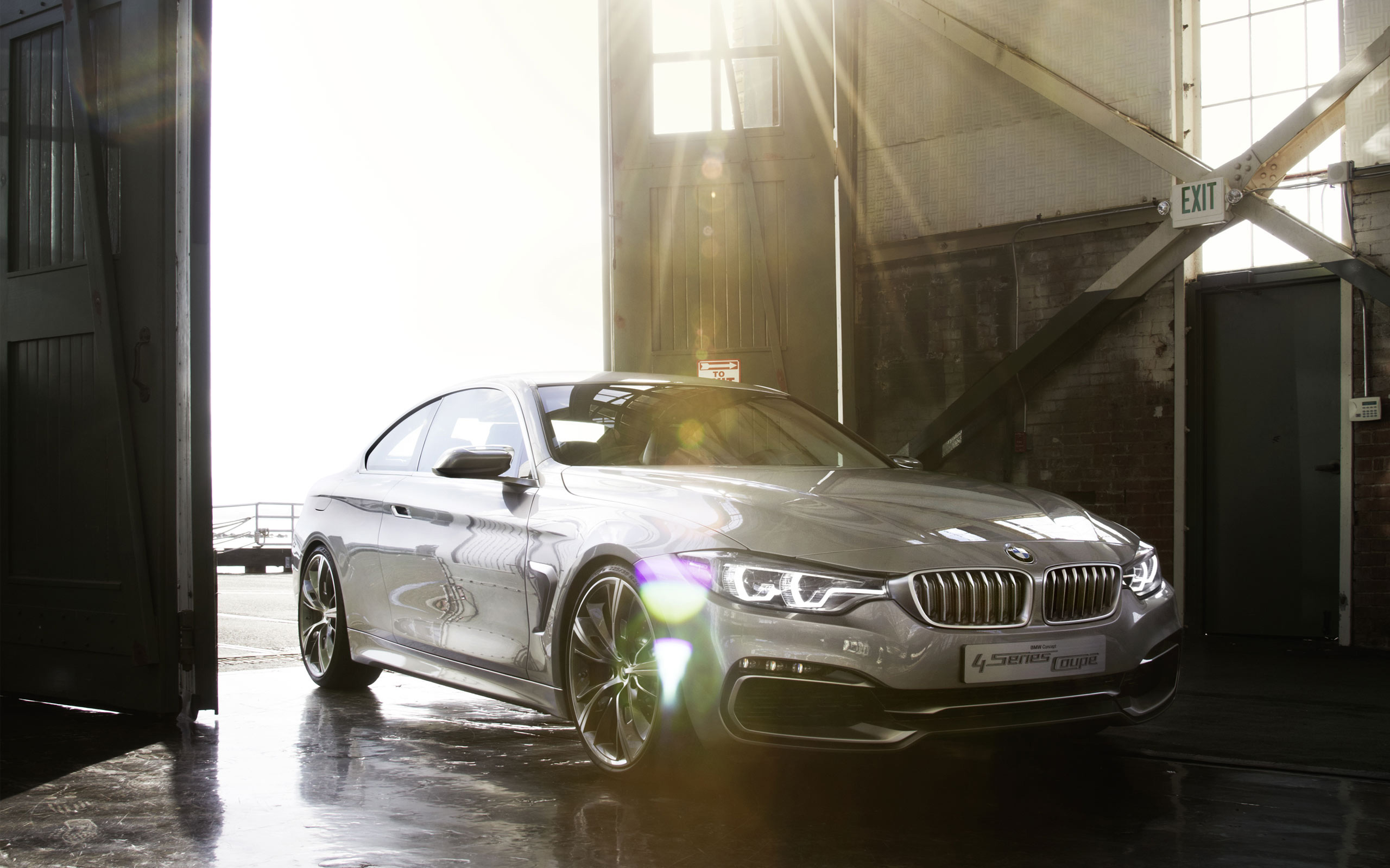 2013 Bmw 4 Series Coupe Conceptrelated Car Wallpapers Wallpaper