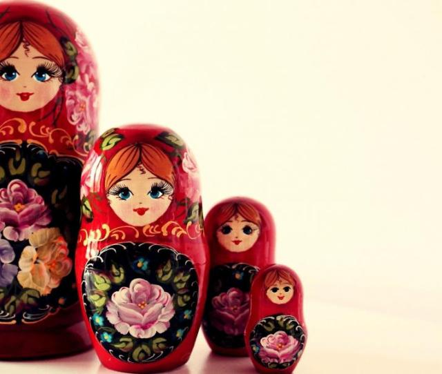 Matryoshka Dolls Wallpaper