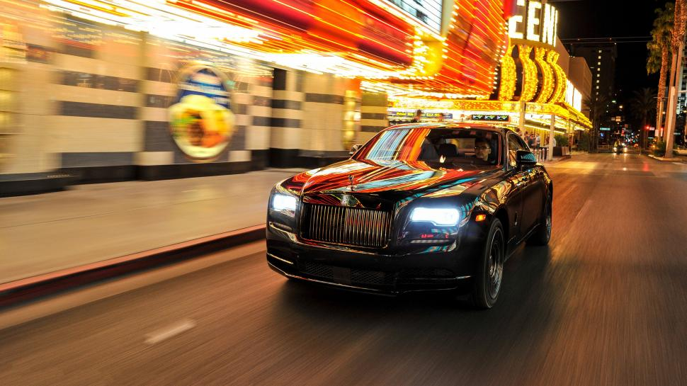 Rolls Royce Wraith Black Badge 4k 2017similar Car Wallpapers