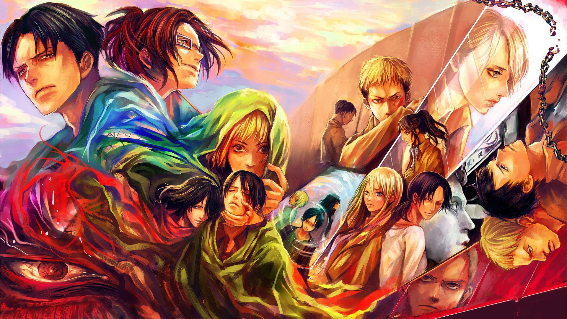 Give your home a bold look this year! Attack on Titan wallpaper | anime | Wallpaper Better