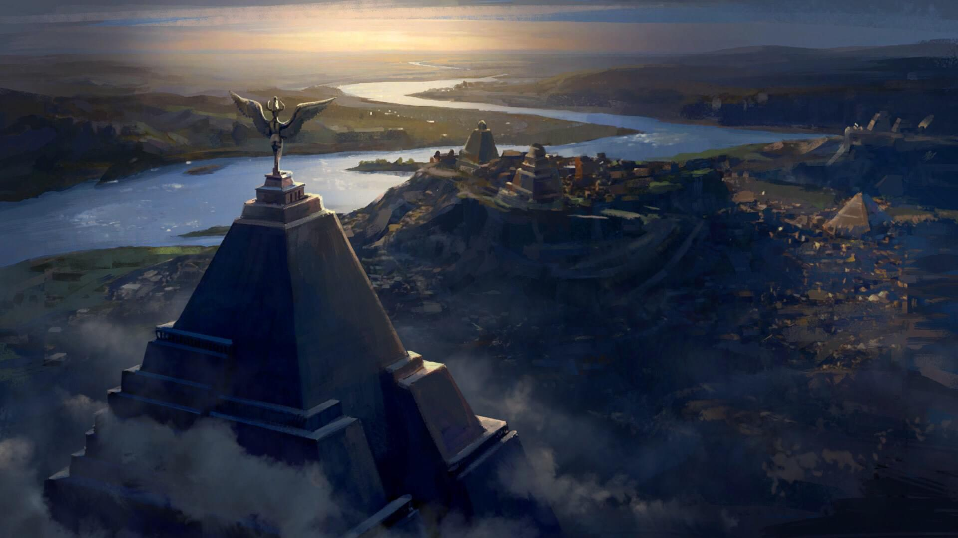 Nomad Iphone X Wallpaper Meereen City Concept Art Pyramids Game Of Thrones