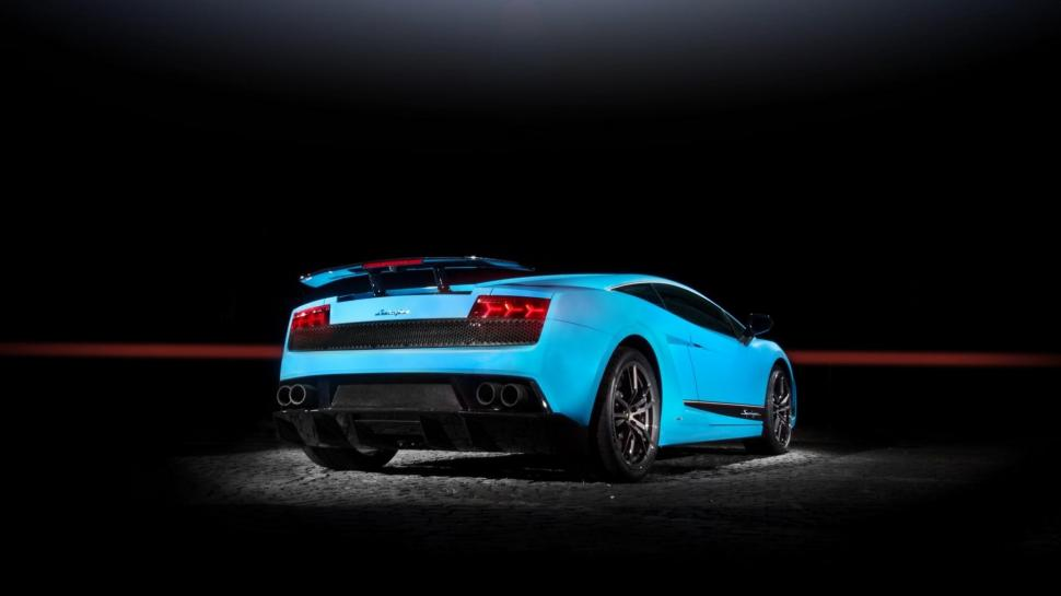 Lamborghini Gallardo Lp570 4 Superleggera The Blue Widescreen