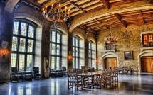 Great Dinning Room In Castle Hdr Wallpaper Brands And