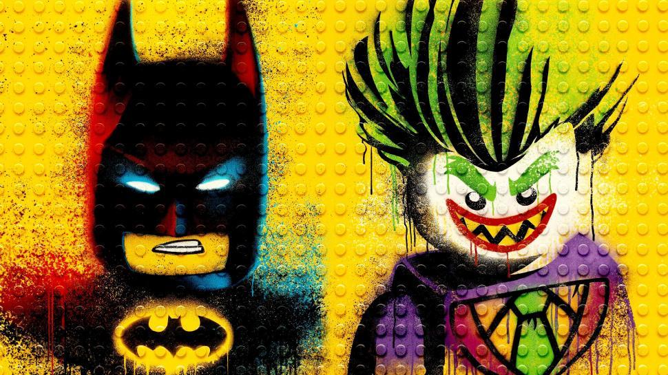 the lego batman and