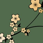 Cartoon Green Flower Hd Wallpaper Nature And Landscape Wallpaper Better