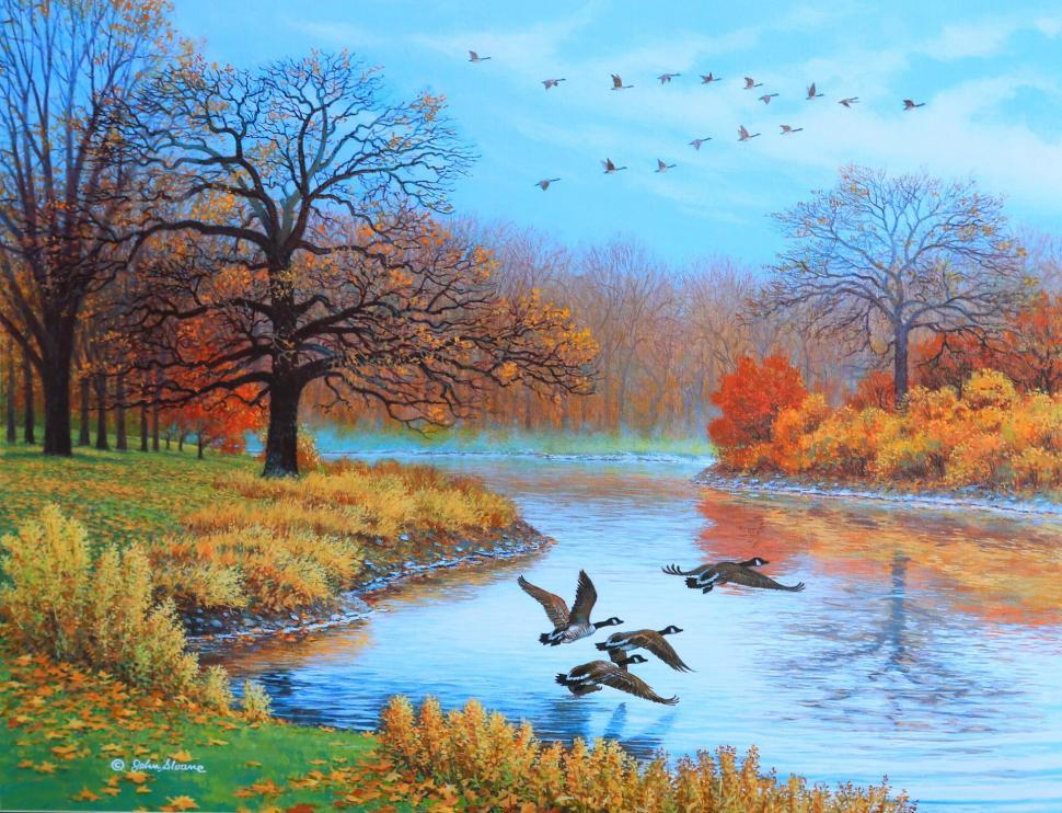 4k Fall Michigan Wallpaper Peaceful Autumn Wallpaper Nature And Landscape