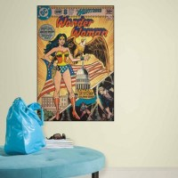 DC1644SLG | Wonder Woman Comic Cover Giant Wall Decal ...