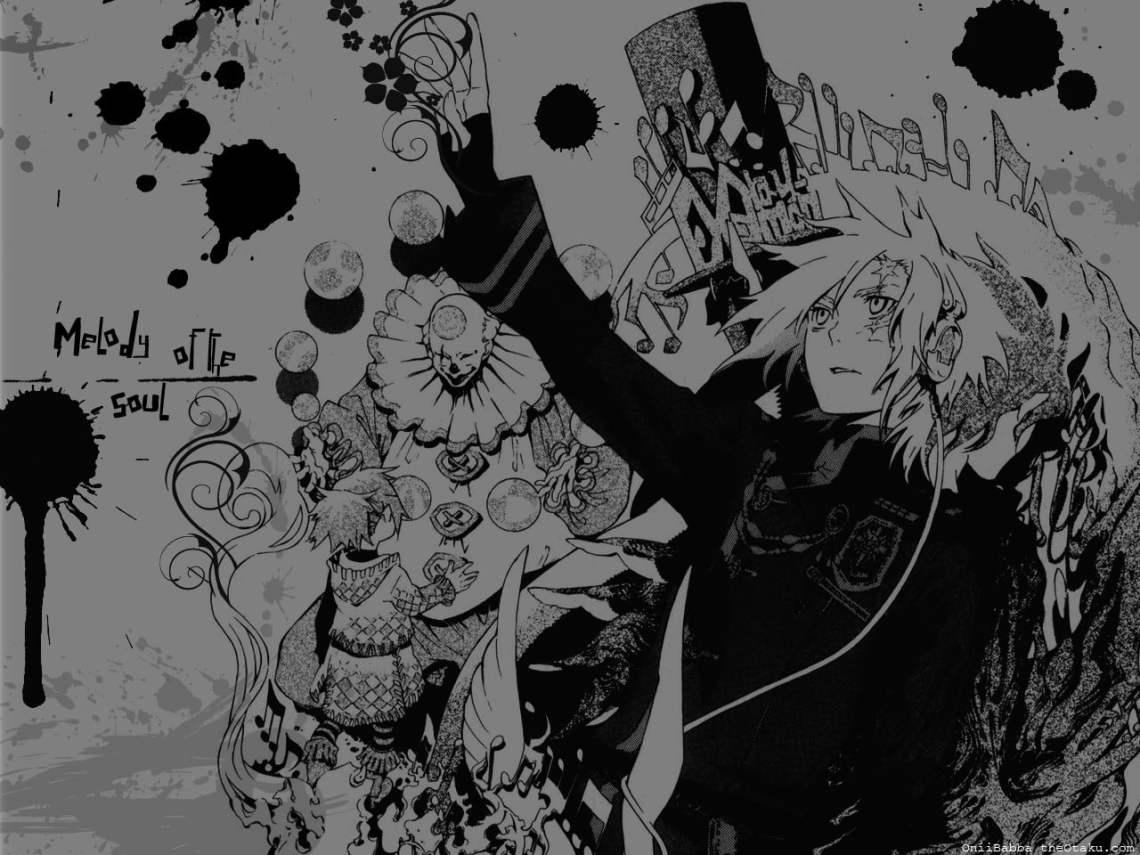 D Gray Man Illustration Black White Anime D Gray Man Hd Wallpaper Wallpaper Flare