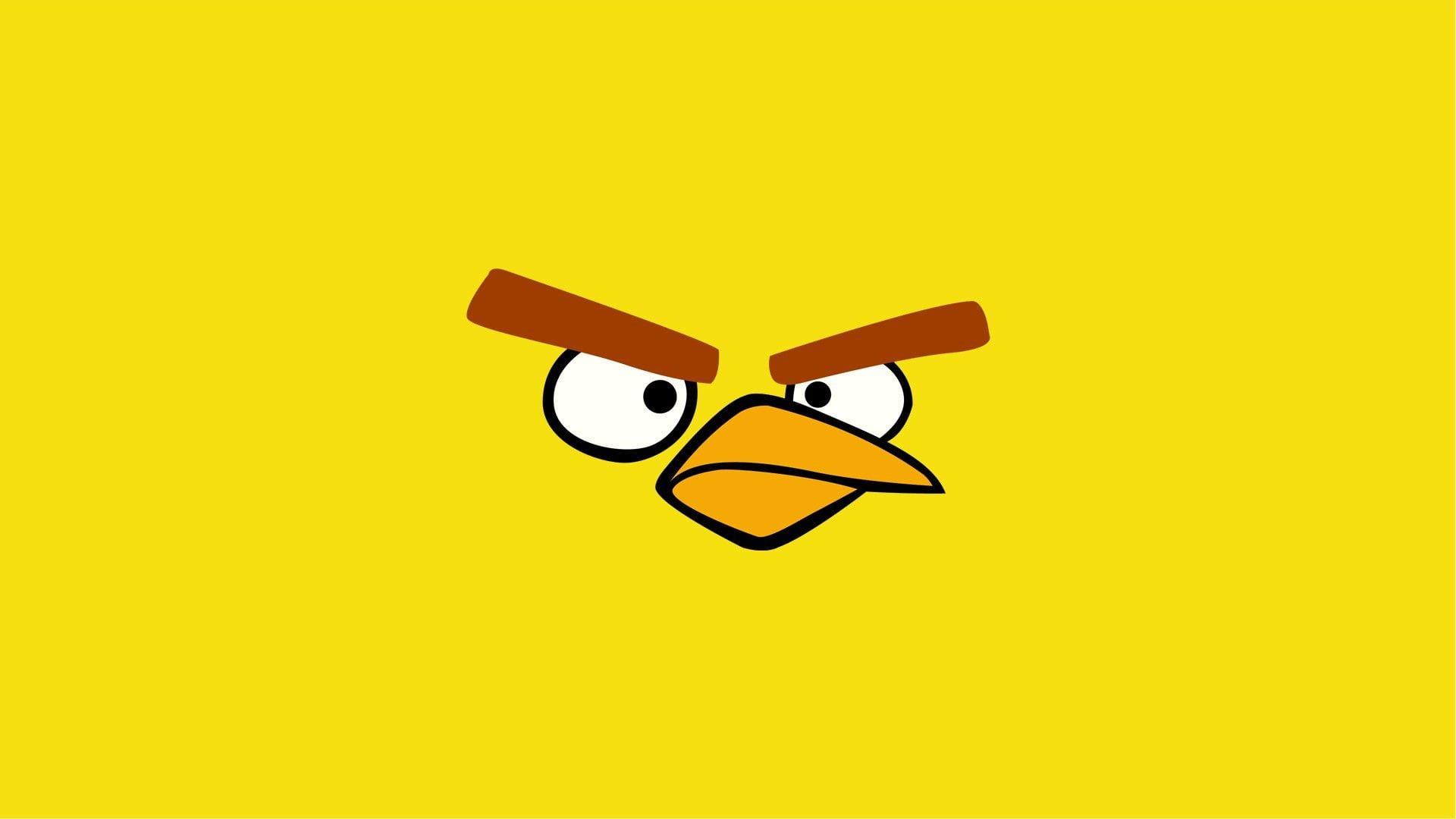 angry bird yellow bird