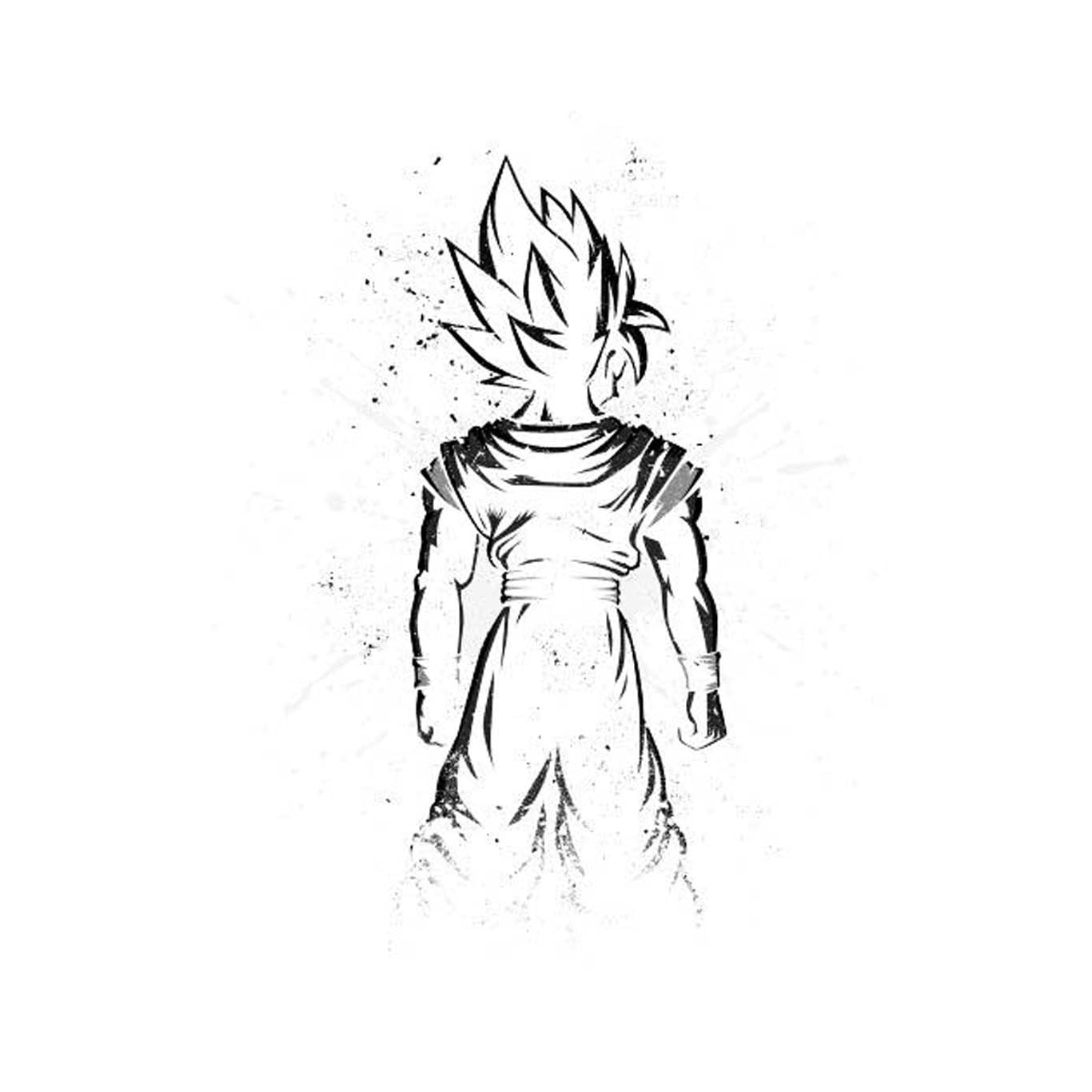 Son Goku Sketch Son Goku Dragon Ball Dragon Ball Z Hd