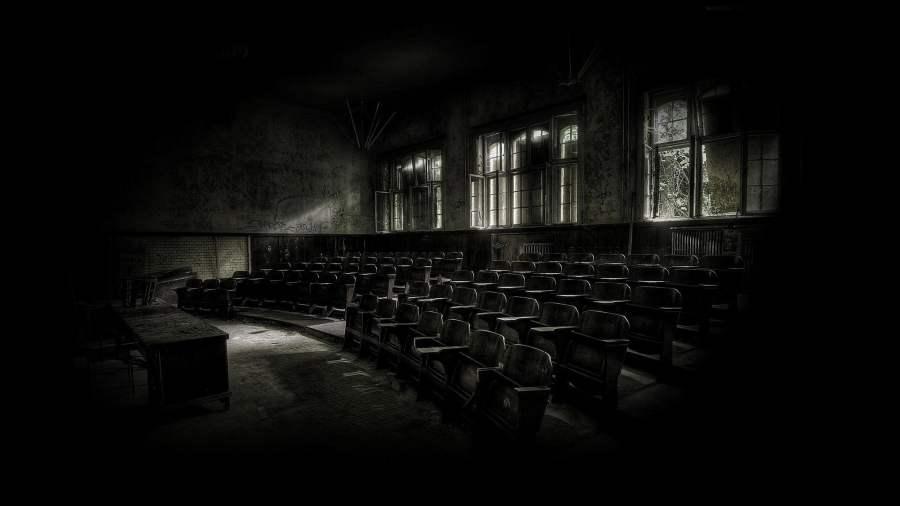 Dark classroom with beam lights at daytime HD wallpaper ...