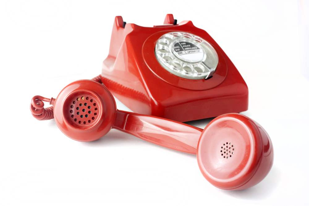 medium resolution of red rotary telephone hd wallpaper