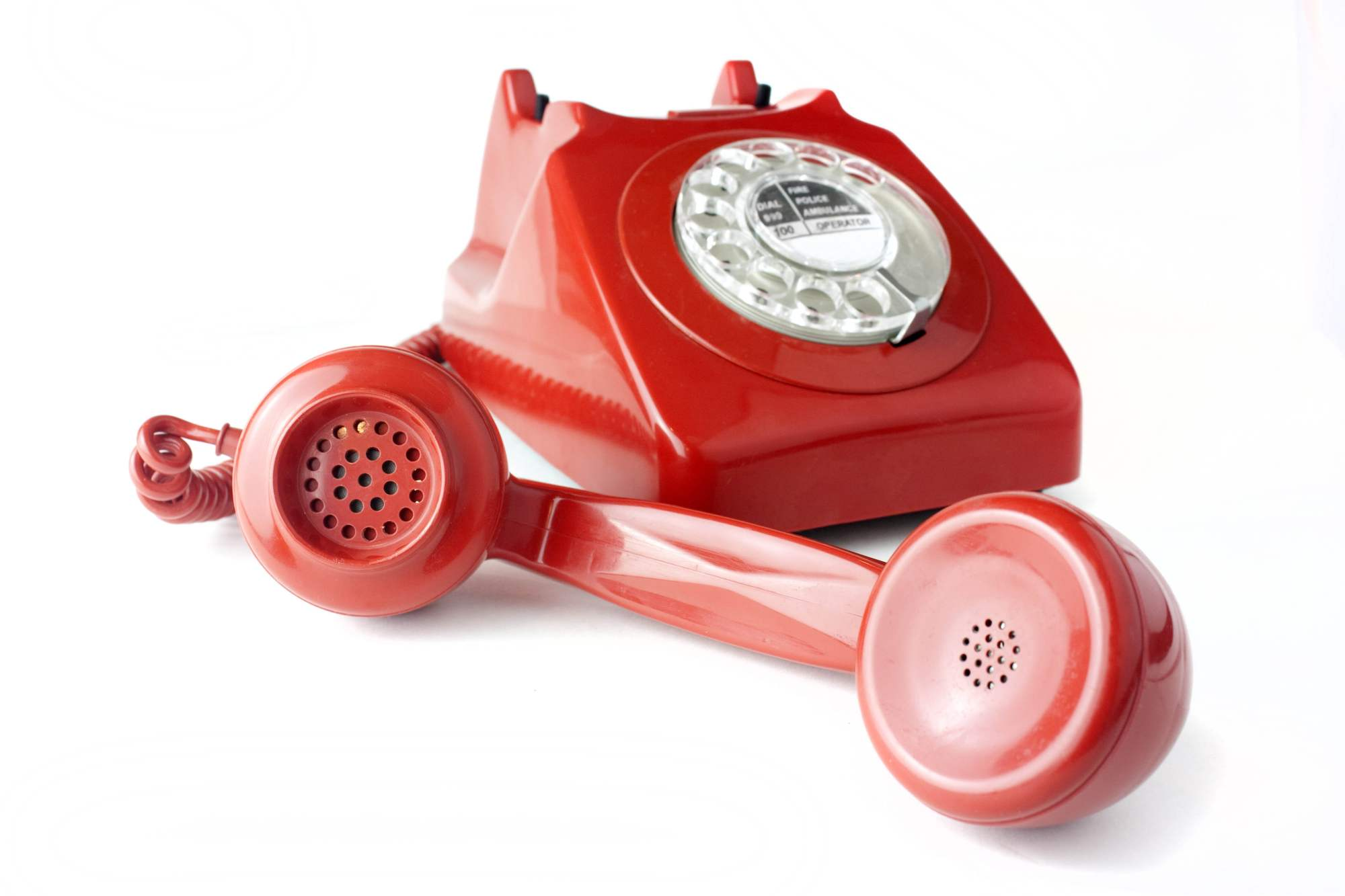 hight resolution of red rotary telephone hd wallpaper