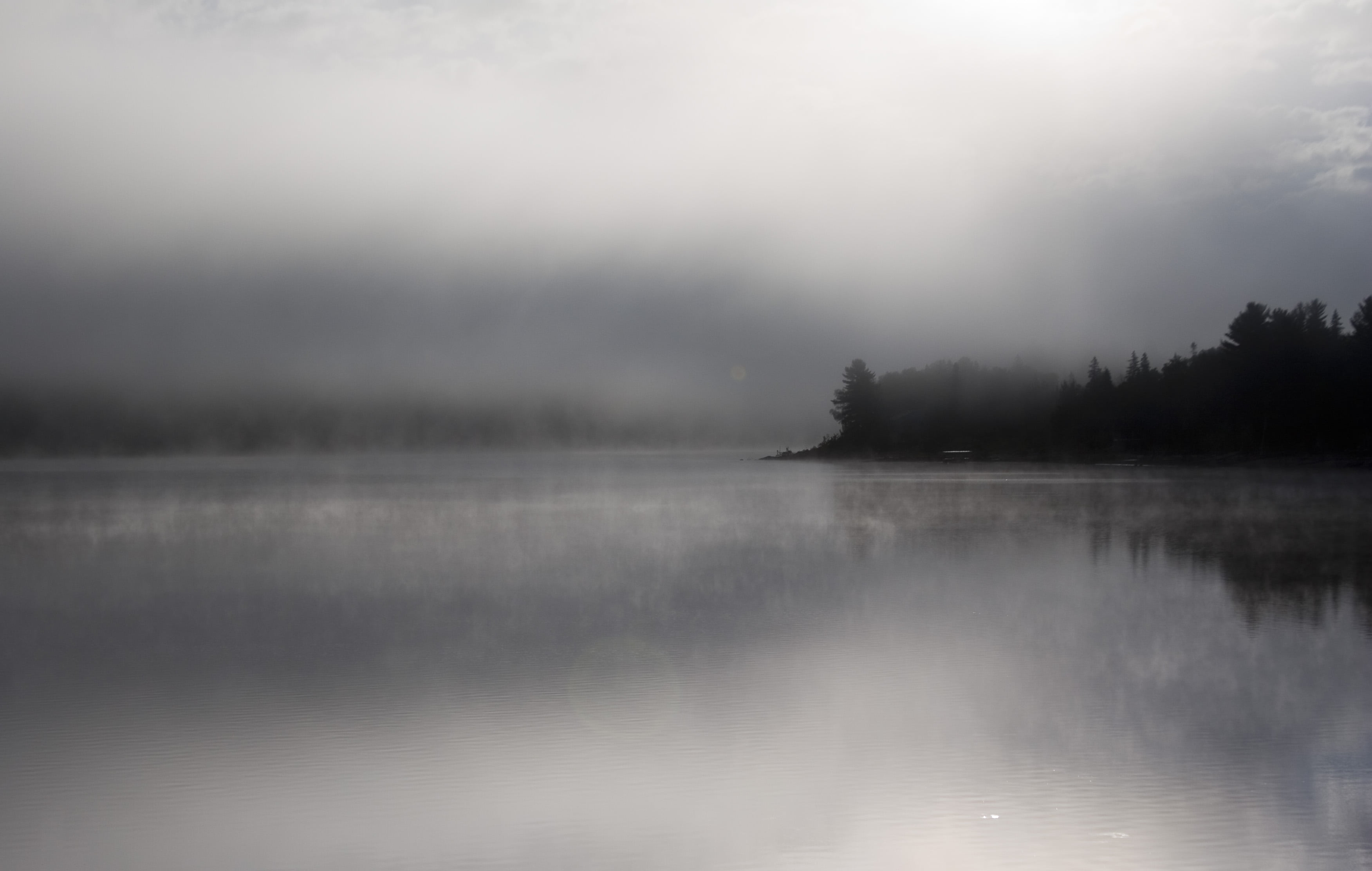 Maine Fall Wallpaper Photography Of Black Foggy Island Dead River Hd Wallpaper