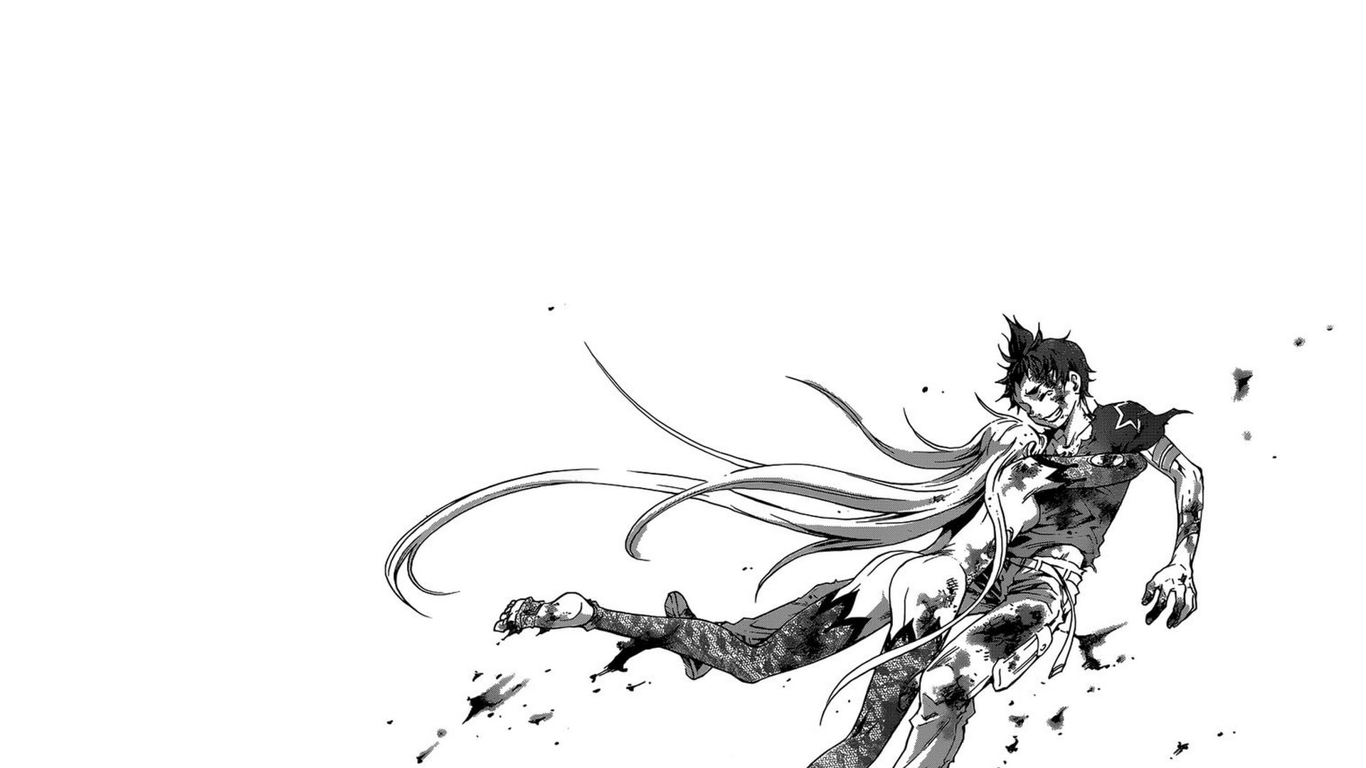 Deadman Wonderland Illustration Manga Monochrome